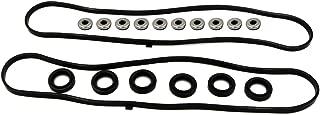 Valve Cover Gasket Set fits for 1997 1998 1999 2001 2002 2003 Acura CL, 2003-2004 Honda Pilot Odyssey, 2001-2002 Acura MDX, 1999-2003 Acura TL, 1998-2002 Honda Accord 3.0L 3.2L 3.5L V6 GAS SOHC 24V