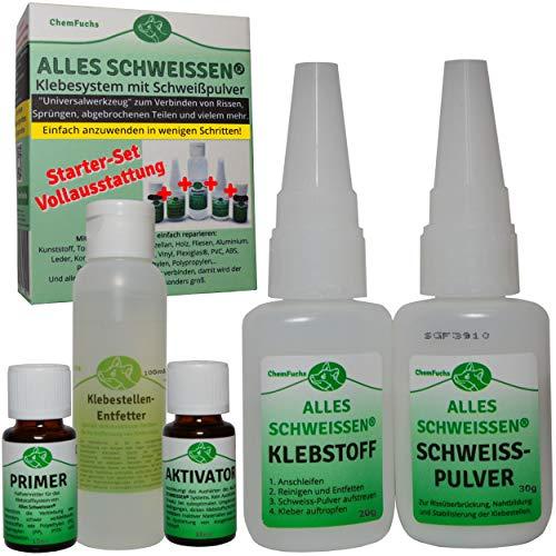 ALLES SCHWEISSEN® 5er Reparatur-Kleber Set