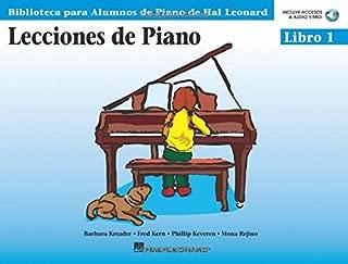 Lecciones de Piano - Libro 1: Biblioteca para Alumnos de Piano de Hal Leonard