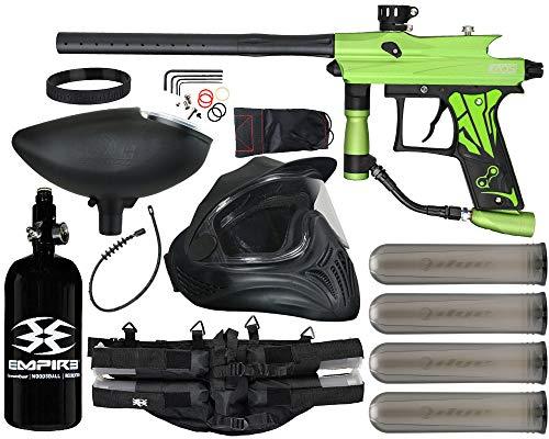 Action Village Azodin KAOS 3 Paintball Gun Legendary Package Kit (Dust Green with Dust Black Parts)