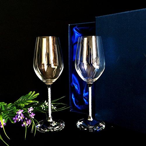 JARONG Vin Rouge Tasse Cadeau De Mariage Créatif Crystal Cup Tasse Haute,350Ml
