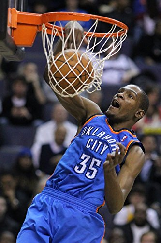 Kevin Durant OKC Thunder Basketball Limited Print Photo Poster 24x36 #4