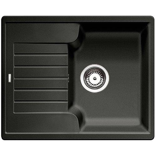 BLANCO ZIA 40 S - Rechteckige Granitspüle für 40 cm breite Unterschränke für die Küche - aus SILGRANIT - Grau - 516918