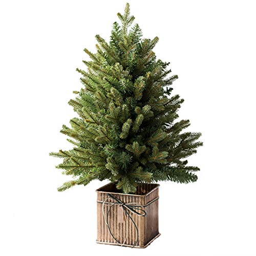 XIAOYY Classic Artificial Realistic Natural Branches Pine Christmas Tree Xmas Green-Unlit,Christmas Tree Artificial Trees (Size : XL)