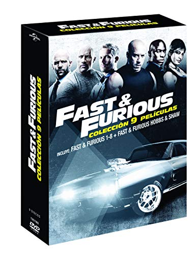Pack: Fast & Furious 1-8 + Hobbs & Shaw