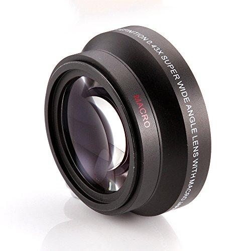 FOTGA 62mm 0.45x Weitwinkel + Macro Conversion Lens Fuer alle Kameras und Camcorder mit 62mm Groe?e Objektiv-Filtergewinde