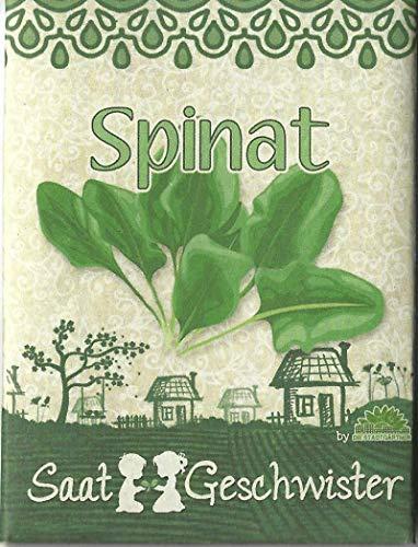 Die Stadtgärtner Spinat-Saatgut ✿ strotzt vor Vitaminen, Beta-Carotin und Folsäure ✿ herrlich milde und schön knackige Sorte ✿ leicht keimende BIO Samen (DE-ÖKO-006)
