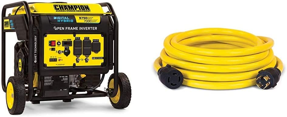 Champion Excellent Power Equipment 100520 A surprise price is realized 8750-Watt Series DH Open Frame I