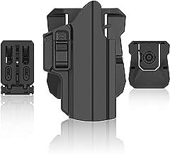 efluky Universal IPSC Holster Pistola Molle Pistolera Airsoft Gun Holster para Glock 17 19/HK USP/Beretta APX/Walther p99/Sig Sauer P320