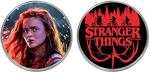 Stranger Things MAX Sadie Sink 2 Imanes Metalicos Circulares