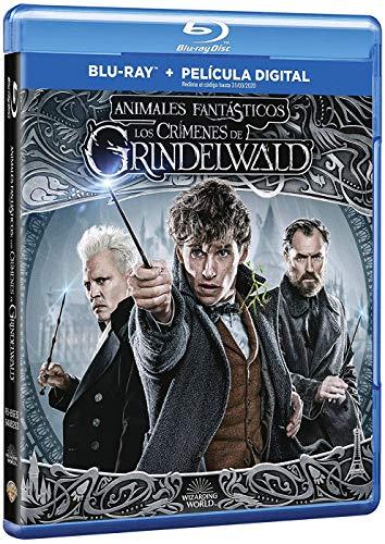 Animales Fantásticos: Los Crímenes De Grindelwald Blu-Ray [Blu-ray]