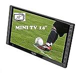 """Televisore portatile LED 14"""" FULL HD XORO PTL 1400 DVB-T2 H.265/HEVC 10 bit"""