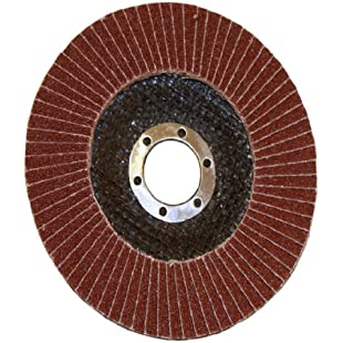 Rolson Alum Oxide Flap Disc for Grinding/Sanding/Smoothing, 115 mm:Warezcrack