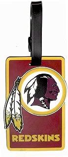 aminco NFL Washington Redskins Soft Bag Tag, Team Color, 7.5