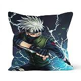 Funda de almohada para la piel con diseño de anime Naruto K