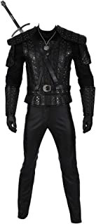 Full Set Cosplay Costumes for The Witcher 3 Wild Hunt Geralt of Rivia