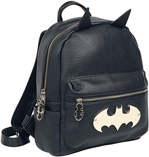 Batman Gotham Gold Backpack Mini-Rucksack schwarz/Gold