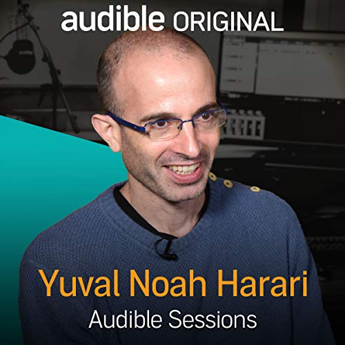 Yuval Noah Harari audiobook cover art
