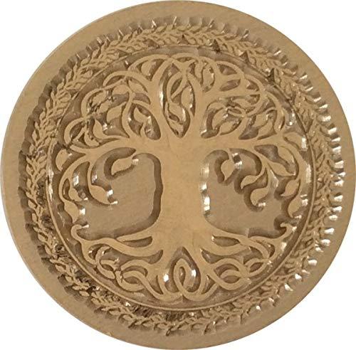 Celtic Tree 1' Diameter Wax Seal Stamp by Seasons Creations