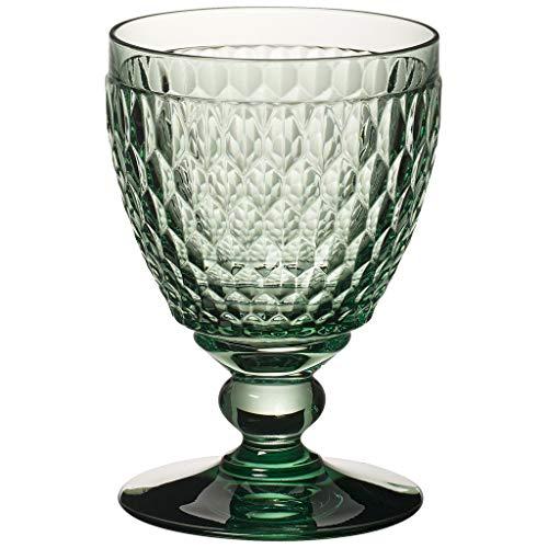 Villeroy & Boch 6 x Boston coloured Wasserglas green Vorteilsset 6 x Art. Nr. 1173090132 und Gratis 1 Trinitae Körperpflegeprodukt