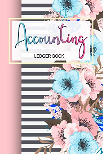 Accounting Ledger: Din A5 , 6 Column Payment Record, Record and Tracker Log Book, Personal Checking Account Balance Register, Checking Account ... (double-sided), p (Accounting Ledger Book)