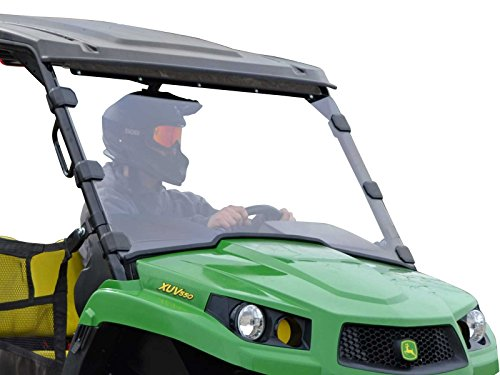 SuperATV Full Windshield compatible with John Deere Gator XUV 550/560/590i/S4 | Scratch Resistant 1/4