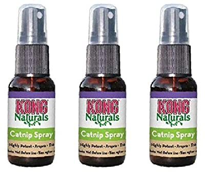 Kong Natural Catnip Spray Size:Pack of 3