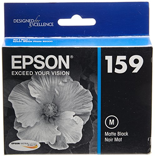 Epson T159820 UltraChrome Hi-Gloss 2 Matte Black Cartridge (T159820)