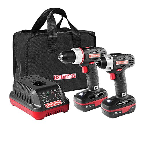 Craftsman C3 19.2 Volt Drill and Impact Driver Combo Kit
