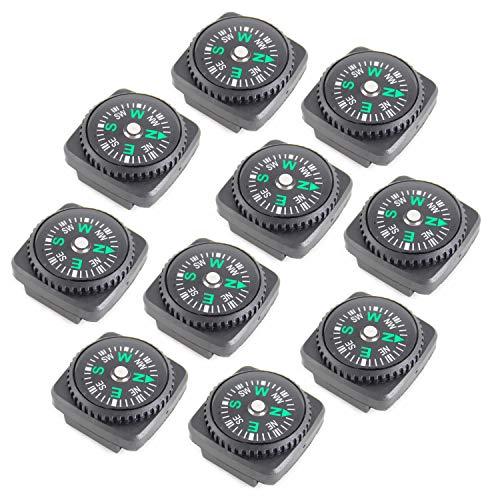Mini Kompass,10er Pack Button Kompass...