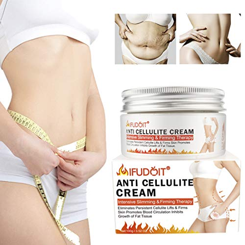 Fat Burning Cream for Belly, Body Anti-Cellulite Cream, Hot Cream Cellulite Treatment, Slimming Cream, Waist Training Cream, Weight Loss Cream for Men and Women, Workout Enhancer for Women-Men120ml