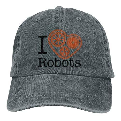 Krooe I Cog Robots - Gorra de béisbol unisex