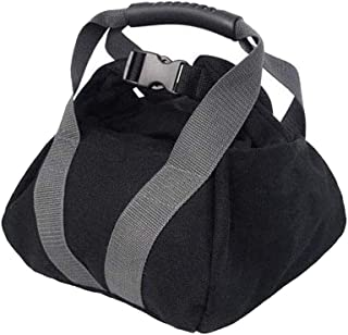 Adjustable Canvas Kettlebell Sandbag wtih Handle for Training Home Training, Yoga, Fitness