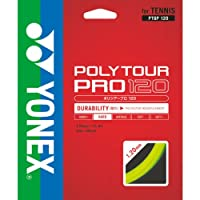 ヨネックス(YONEX) 硬式テニス ストリングス ポリツアープロ 120 (1.20mm) PTGP120 フラッシュイエロー