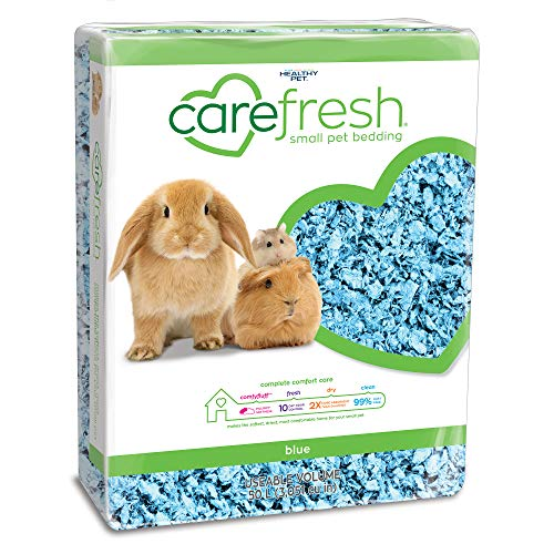 Carefresh Blue Small pet Bedding, 50L (Pack May Vary) (273193)