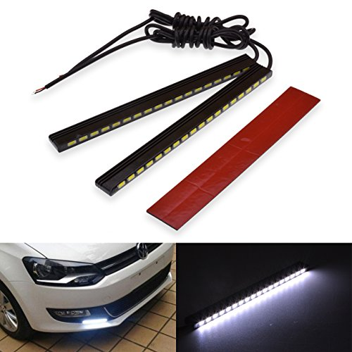 KaTur 5730 18-SMD Ruban LED rouge haute puissance, feux de circulation diurnes étanches, lampe 29 W