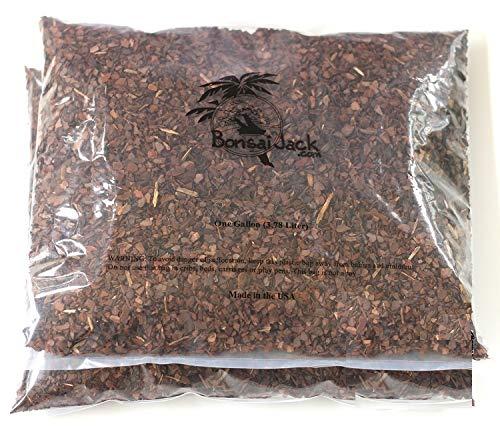 Bonsai Jack 1/4 inch 2 Gallons Pine Bark Fines, 2 Gallons