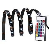 lederTEK LED Streifen, LED Stripes, 30 LED 1M 5050 RGB Flexible Farbe wechselnden Komplettpaket mit...