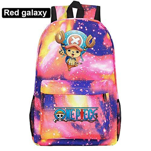 HPOZA School Backpack Anime One Piece Unisex Multifunctional Backpack School Backpack Cartoon Casual Rucksack Book Bags