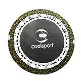 CoalSport Trampolino Elastico Colore Mimetic Modello 122 Cm...