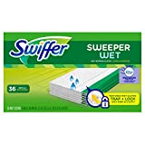 Textured Wet mopping pad cloths TRAP + LOCK dirt deep in cloth. Scrubbing Strip removes tough spots Safe on all finished floors* *Do not use on unfinished, oiled or waxed wooden boards, non-sealed tiles or carpeted floors because they may be water se...