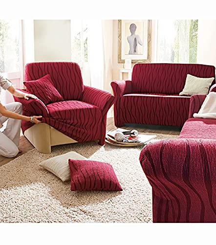 Funda sofá Andrómeda Ajustable con Efecto tapizado sin género - 543002