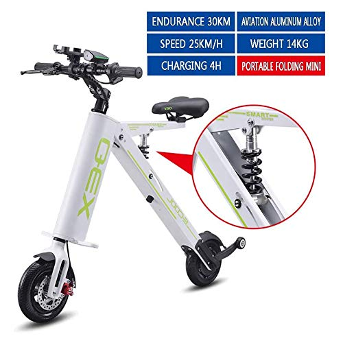 Batería de litio plegable mini coche eléctrico de bicicletas para adultos energía...