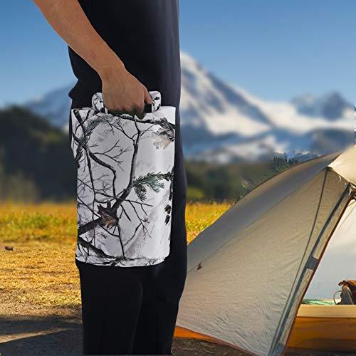Changor Bolsa Impermeable, con diseño de Bolsas de Rollo de poliéster de 210T 55 x 33cm Bolsa de células