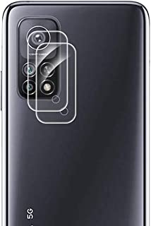 FanTing Camera Lens Protective Film for Xiaomi Mi 10T Pro 5G, Transparent, Ultra-thin,Scratch-resistant,Soft Tempered Glas...