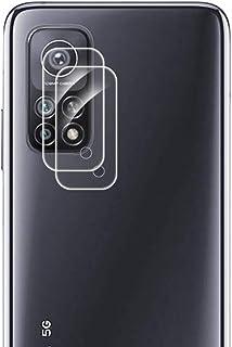 غشاء حماية لعدسة الكاميرا لهاتف شاومي مي 10 تي برو الجيل الخامس من فان تينج، شفاف ومقاوم للخدش، غشاء واقٍ من الزجاج المقسى...