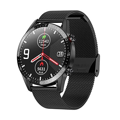 VBF Reloj Inteligente, Negocios L13, Llamadas De Bluetooth De Los Hombres, ECG, Ritmo Cardíaco, Rastreador De Fitness, Deportes PK L16 L19 para Android iOS,A