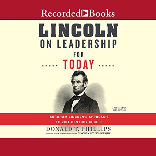 Lincoln on Leadership for Today audiobook cover art