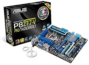 ASUS P8Z77-V PRO/THUNDERBOLT LGA 1155 Intel Z77 HDMI SATA 6Gb/s USB 3.0 ATX Intel Motherboard