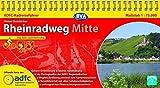ADFC-Radreiseführer Rheinradweg Mitte 1:75.000 praktische Spiralbindung, reiß- und wetterfest, GPS-Tracks Download: Von Köln nach Karlsruhe (ADFC Radführer)